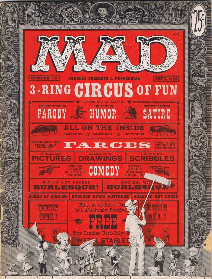 MAD Magazine #29 • USA • 1st Edition - New York