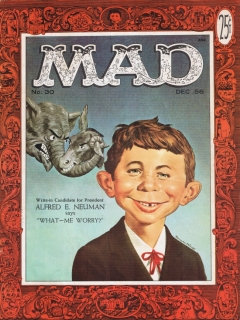 Go to MAD Magazine #30 • USA • 1st Edition - New York
