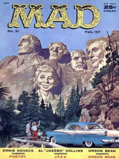 Go to MAD Magazine #31 • USA • 1st Edition - New York