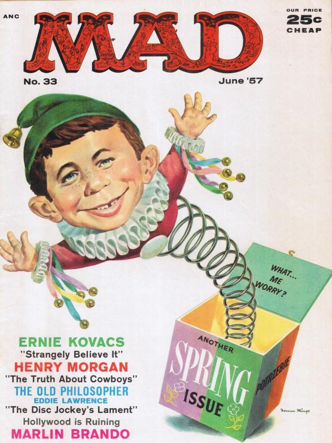 MAD Magazine #33 • USA • 1st Edition - New York