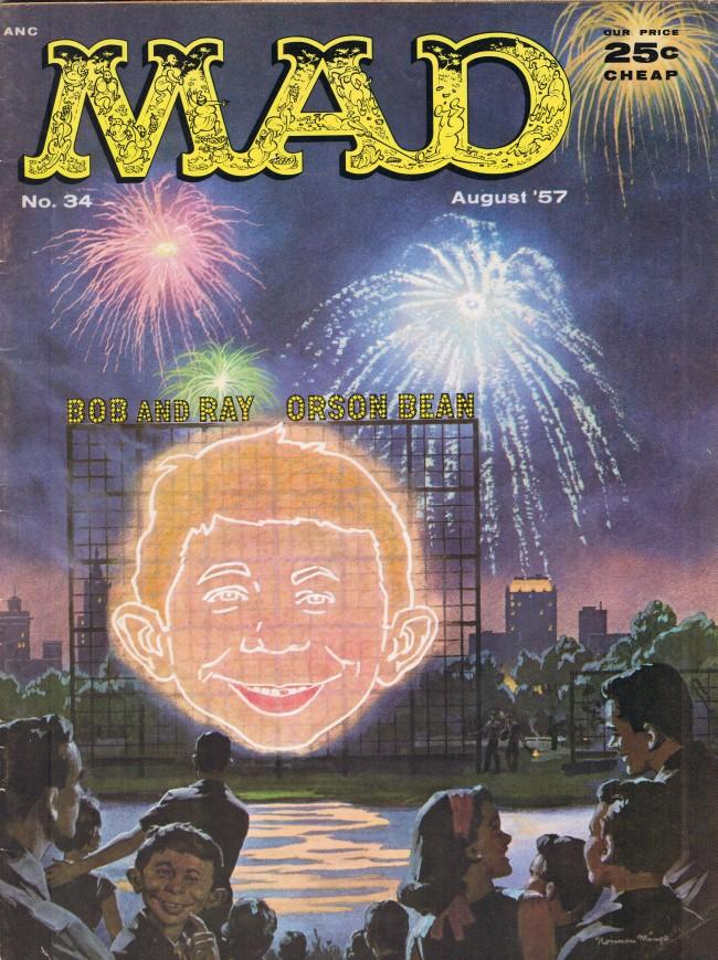 MAD Magazine #34 • USA • 1st Edition - New York