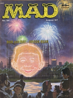 Go to MAD Magazine #34 • USA • 1st Edition - New York