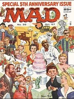 MAD Magazine #35 • USA • 1st Edition - New York