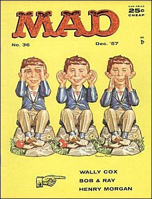 MAD Magazine #36 • USA • 1st Edition - New York