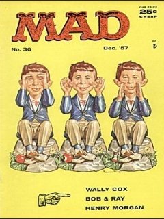 Go to MAD Magazine #36 • USA • 1st Edition - New York