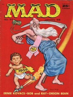 Go to MAD Magazine #37 • USA • 1st Edition - New York
