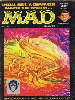 Go to MAD Magazine #38 • USA • 1st Edition - New York