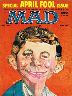 Go to MAD Magazine #39 • USA • 1st Edition - New York
