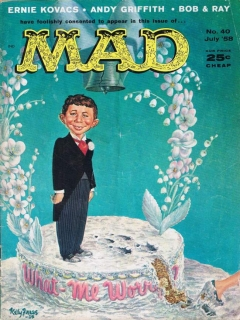 Go to MAD Magazine #40 • USA • 1st Edition - New York