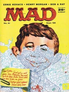 MAD Magazine #41 • USA • 1st Edition - New York