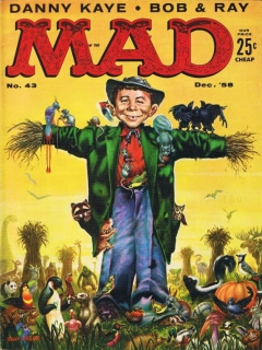 Go to MAD Magazine #43 • USA • 1st Edition - New York