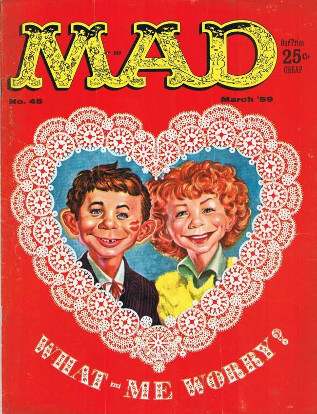 MAD Magazine #45 • USA • 1st Edition - New York