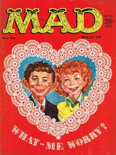 Go to MAD Magazine #45 • USA • 1st Edition - New York
