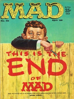 Go to MAD Magazine #46 • USA • 1st Edition - New York