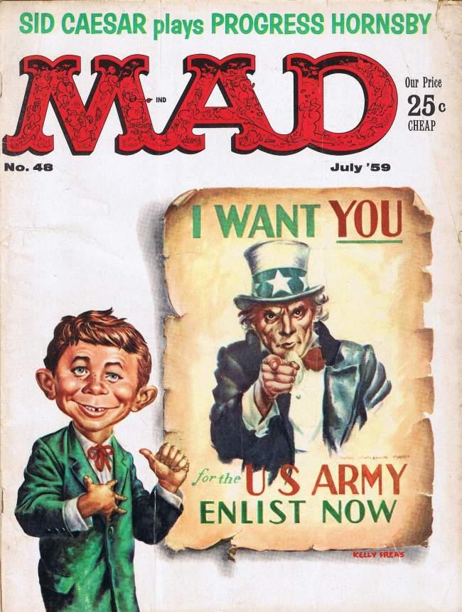MAD Magazine #48 • USA • 1st Edition - New York