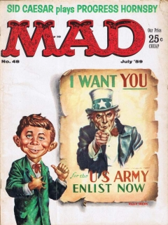 Go to MAD Magazine #48 • USA • 1st Edition - New York