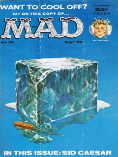Go to MAD Magazine #49 • USA • 1st Edition - New York