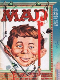 Go to MAD Magazine #50 • USA • 1st Edition - New York