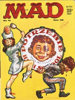 Go to MAD Magazine #51 • USA • 1st Edition - New York