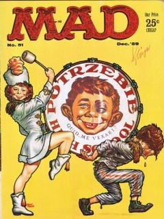 MAD Magazine #51 • USA • 1st Edition - New York