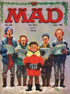 Go to MAD Magazine #52 • USA • 1st Edition - New York