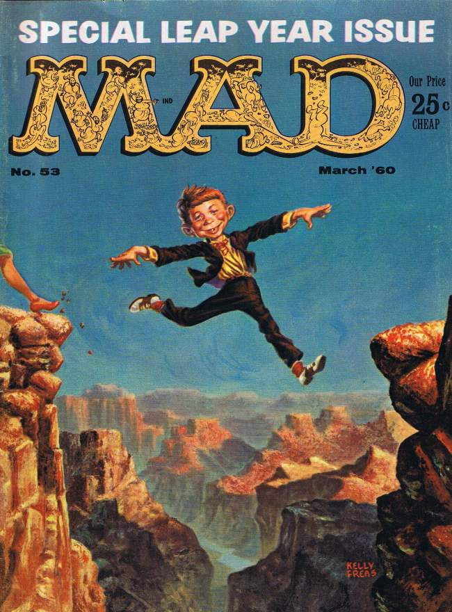 MAD Magazine #53 • USA • 1st Edition - New York