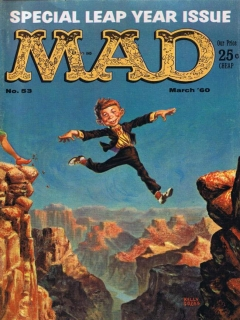 Go to MAD Magazine #53 • USA • 1st Edition - New York