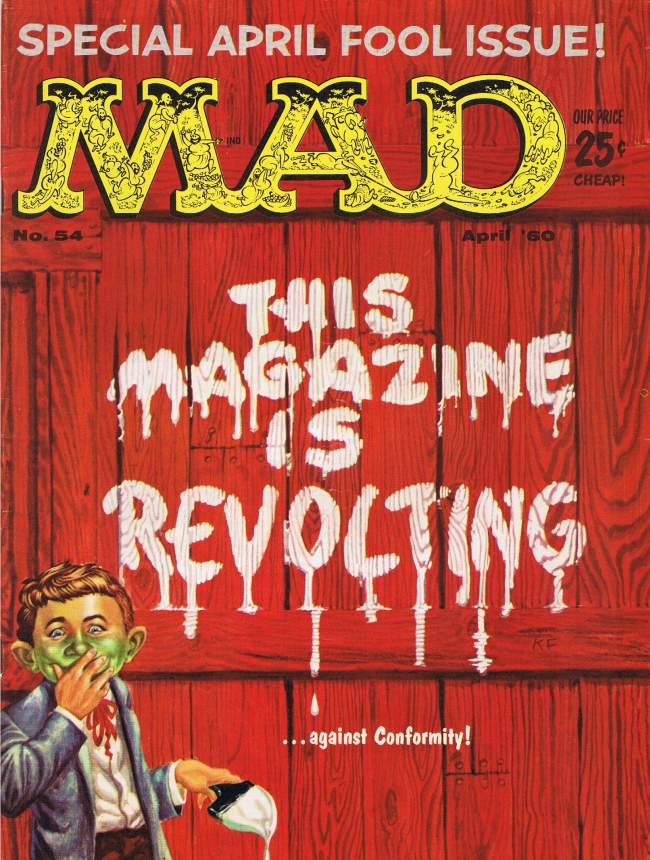MAD Magazine #54 • USA • 1st Edition - New York