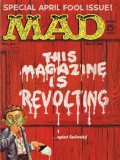 Go to MAD Magazine #54 • USA • 1st Edition - New York