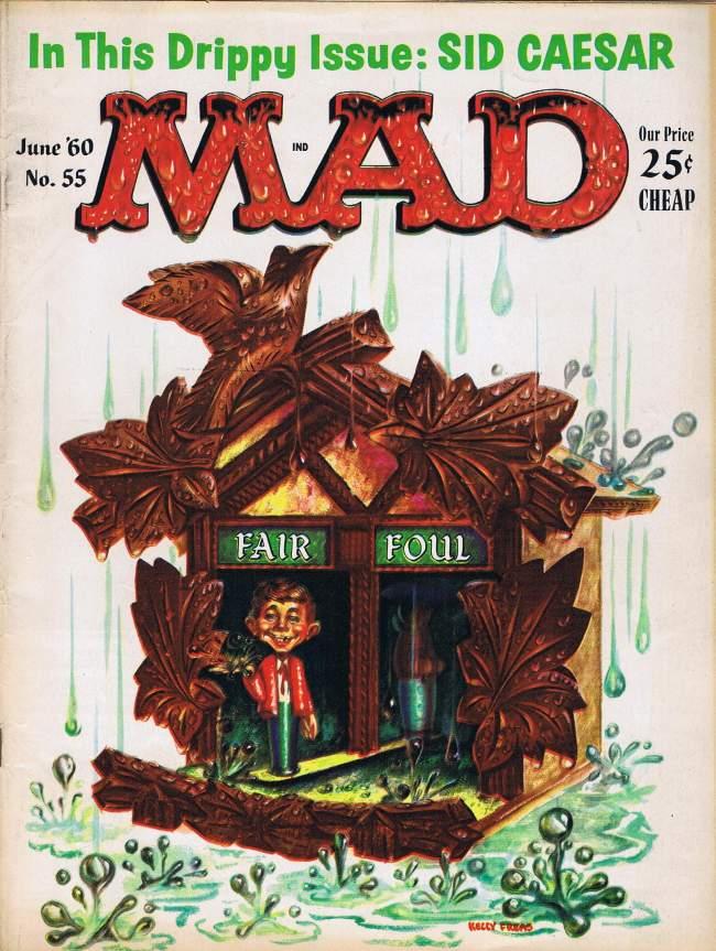 MAD Magazine #55 • USA • 1st Edition - New York