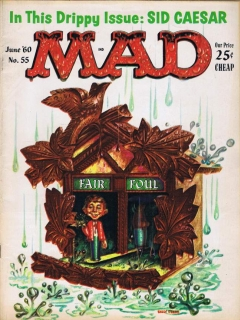 Go to MAD Magazine #55 • USA • 1st Edition - New York