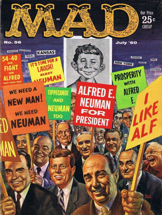 MAD Magazine #56 • USA • 1st Edition - New York
