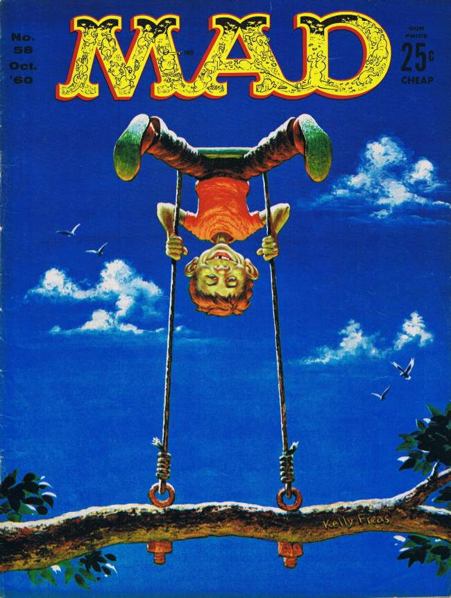 MAD Magazine #58 • USA • 1st Edition - New York