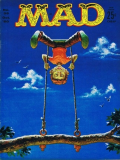Go to MAD Magazine #58 • USA • 1st Edition - New York