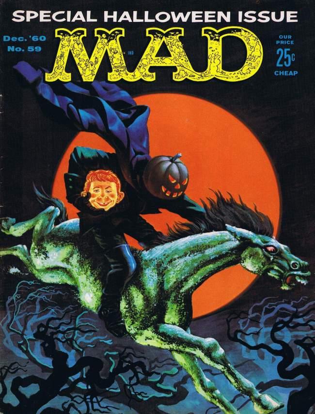 MAD Magazine #59 • USA • 1st Edition - New York