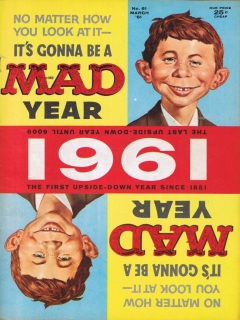 Go to MAD Magazine #61 • USA • 1st Edition - New York