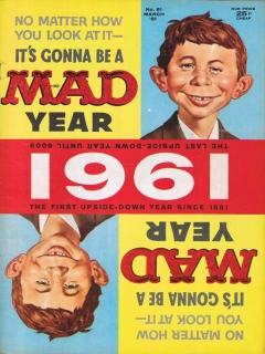 MAD Magazine #61 • USA • 1st Edition - New York