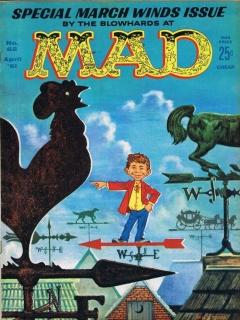 MAD Magazine #62 • USA • 1st Edition - New York