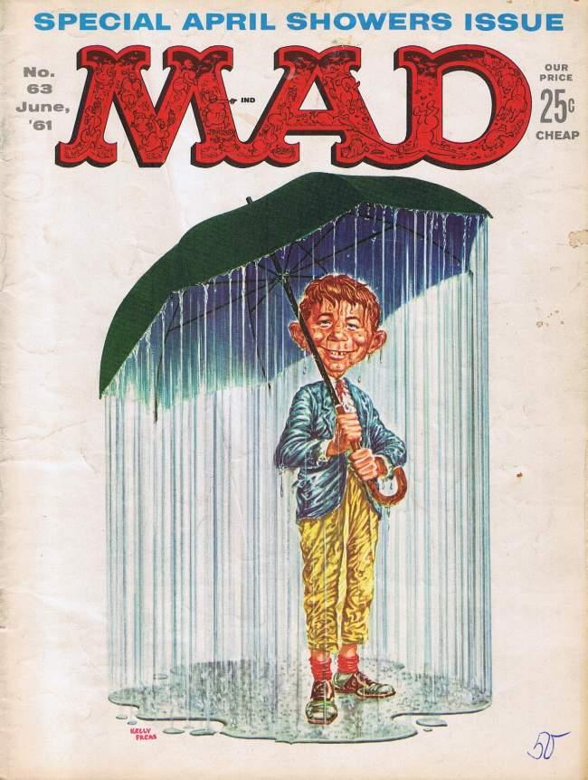 MAD Magazine #63 • USA • 1st Edition - New York