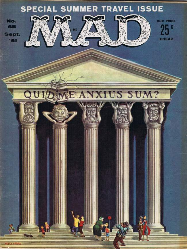 MAD Magazine #65 • USA • 1st Edition - New York