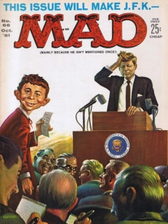 Go to MAD Magazine #66 • USA • 1st Edition - New York