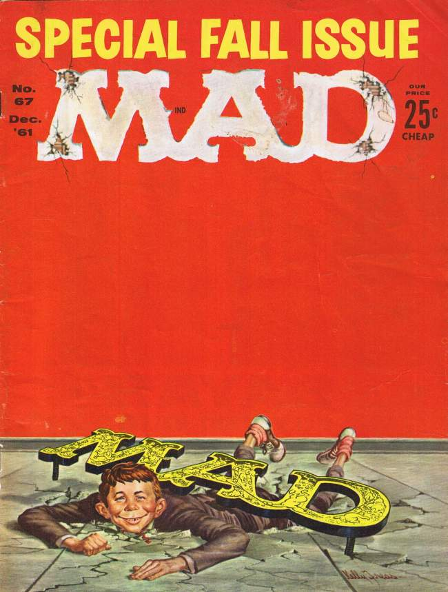 MAD Magazine #67 • USA • 1st Edition - New York