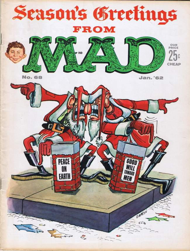 MAD Magazine #68 • USA • 1st Edition - New York