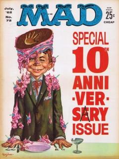 MAD Magazine #72 • USA • 1st Edition - New York