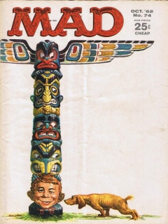 Go to MAD Magazine #74 • USA • 1st Edition - New York