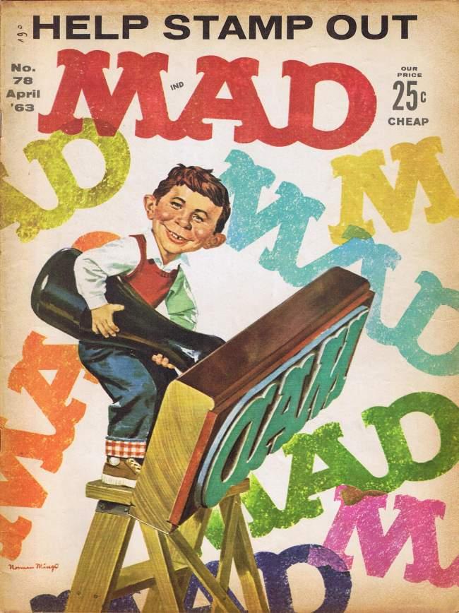 MAD Magazine #78 • USA • 1st Edition - New York