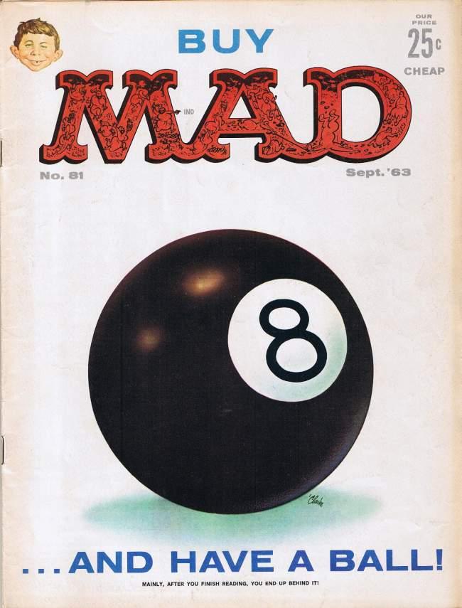MAD Magazine #81 • USA • 1st Edition - New York