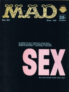 MAD Magazine #83 • USA • 1st Edition - New York