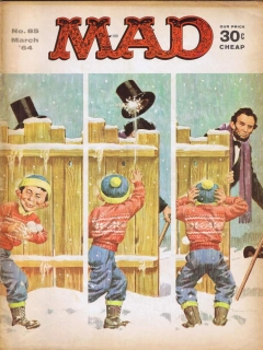 Go to MAD Magazine #85