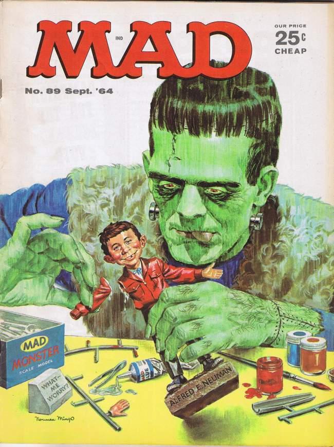 MAD Magazine #89 • USA • 1st Edition - New York